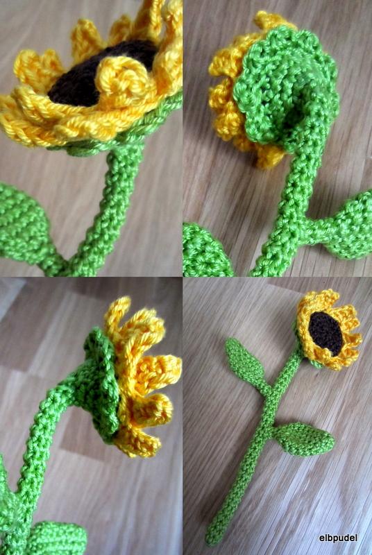 Sonnenblumencollage
