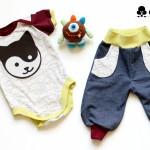 Häkelzyklop und YinYang-Babykombi