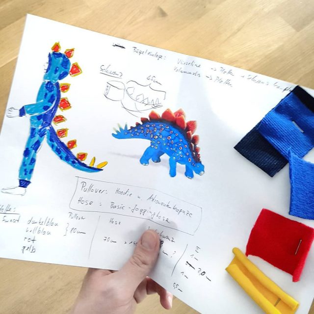 FaschingskostmMasterplan  Ein Stegosaurier wird gewnscht so wie bei Dinohellip